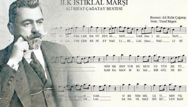 İstiklal Marşı nın İlk Hali – Beste: Ali Rıfat Çağatay