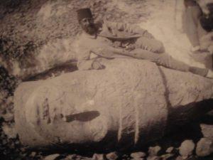 Adıyaman, Nemrut Dağı'nda kazıları yaparken