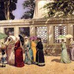 Osman Hamdi Bey - Gezintide Kadınlar Tablosu