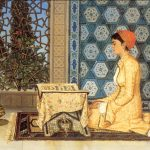 Osman Hamdi Bey - Kur'an Okuyan Kız Tablosu