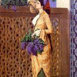 Osman Hamdi Bey - Leylak Toplayan Kız Tablosu