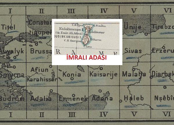 Mükemmel Detaylı Tarihi Türkiye Haritası (1902-1916)