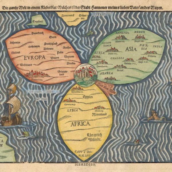 Atalarımızın Dünya'ya Bakışı: Antik Haritalar