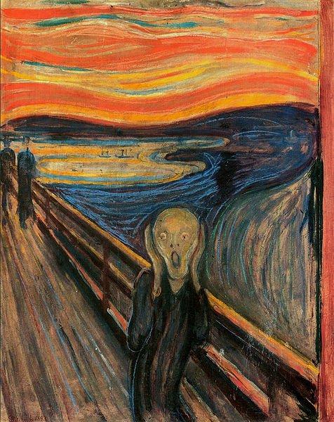 Çığlık - Edvard Munch