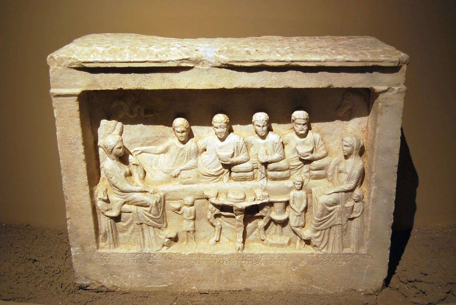 İstanbul Müzesi, Geç Helenistik Dönem'de Cyzicus'tan mermer garve steli