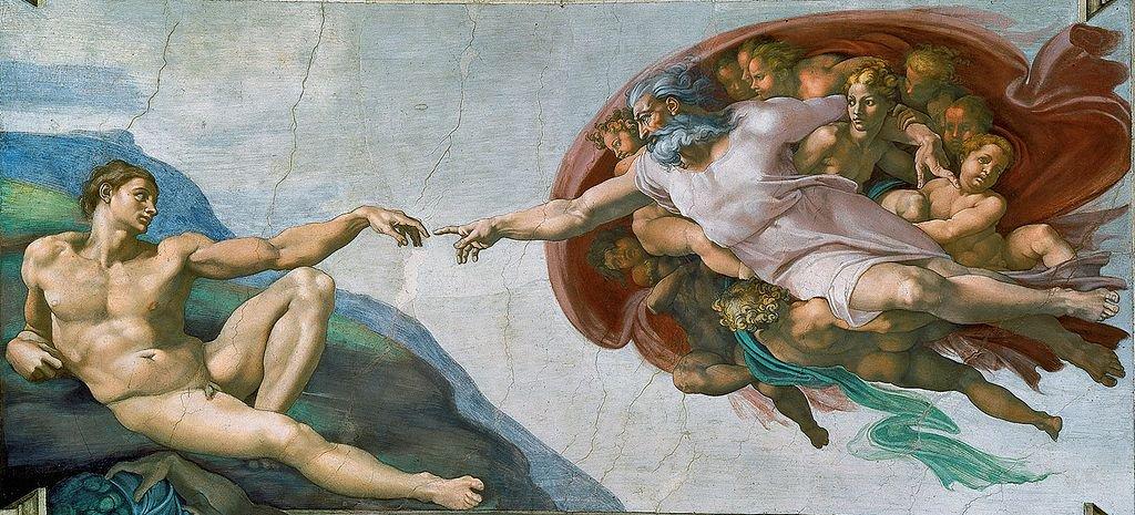 Adem'in Yaratılışı - Michelangelo