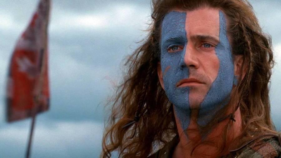4. Cesur Yürek - Braveheart , İskoç Bağımsızlık Savaşı sırasında büyük önderlerden biri olan İskoç şövalye William Wallace'ın hikayesini anlatıyor.
