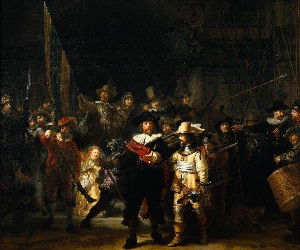 Gece Devriyesi - Rembrandt van Rijn