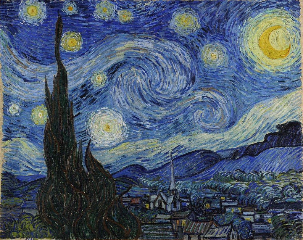 Yıldızlı Gece - Vincent van Gogh