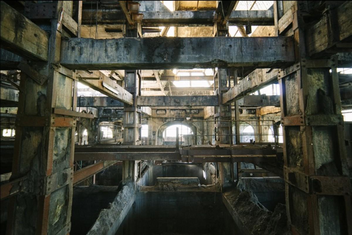 Terk edilmiş Kömür Tesisi, Fransa