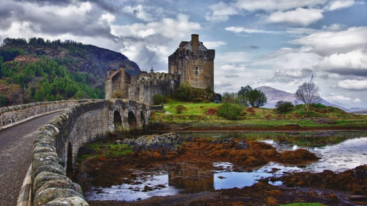 Eilean Donan, Loch Duich, İskoçya