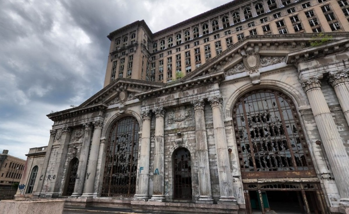 Michigan Merkez İstasyonu, Detroit, Michigan