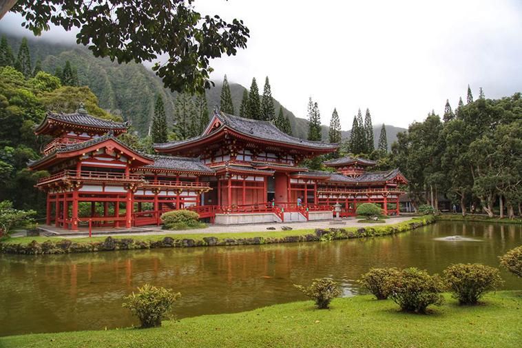 Byodo-In Tapınağı, Ahuimanu, Hawaii