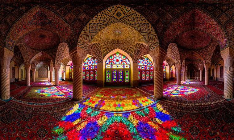 Nasır-el-Molk Camii, Şiraz, İran