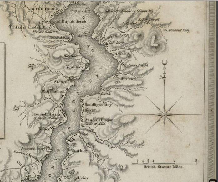 Eski İstanbul Haritası Detay 4