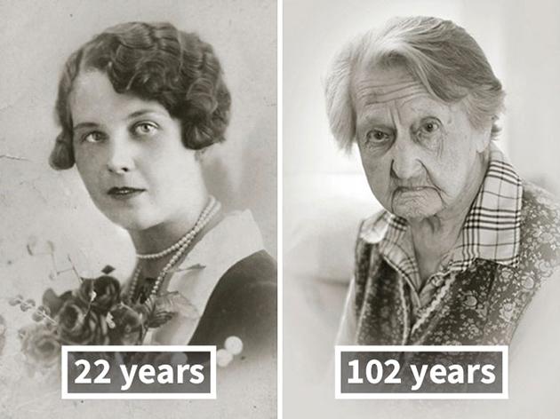 13. Anna Vašinová, 22 Yaşındaki (Düğünden Sonra), 102 yaşında, 100 Yaşını Geçen İnsanlar