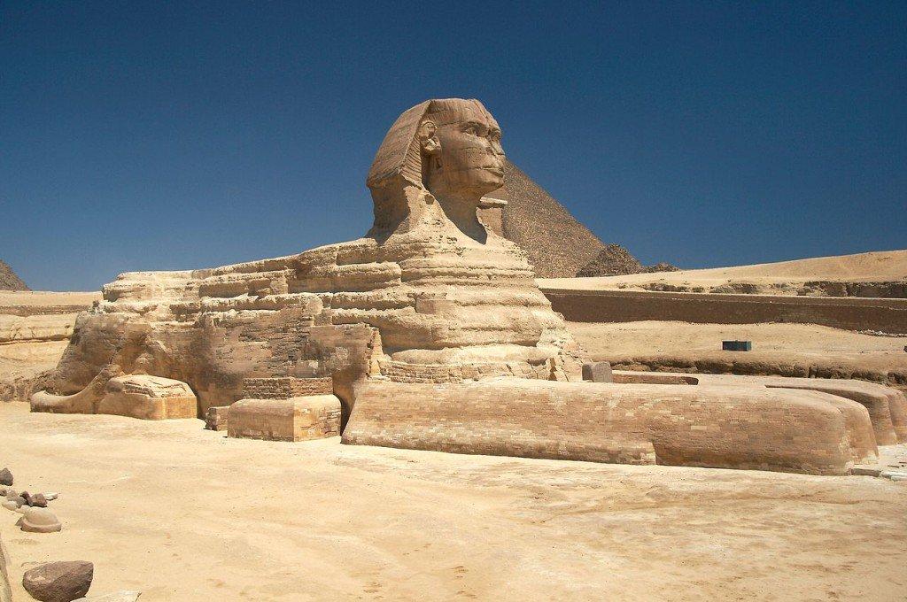 Giza'nın Büyük Sfenksi, Mısır