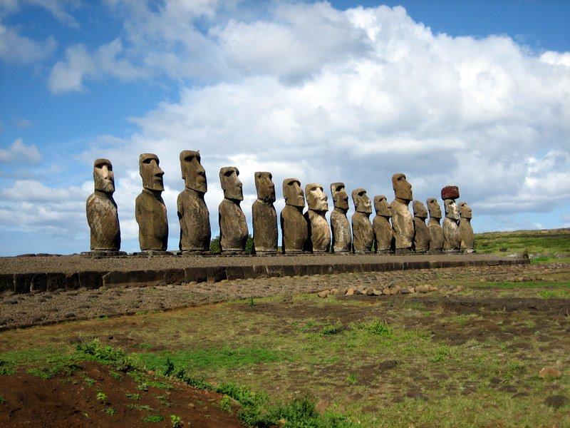 Moai, Paskalya Adası